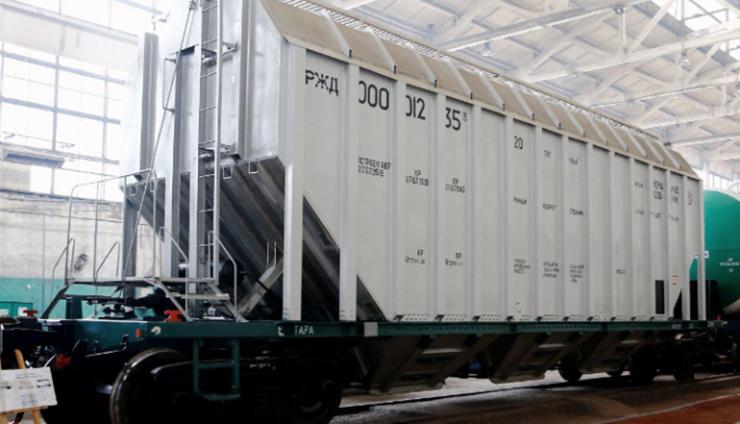 Железнодорожные вагоны из алюминиевого сплава