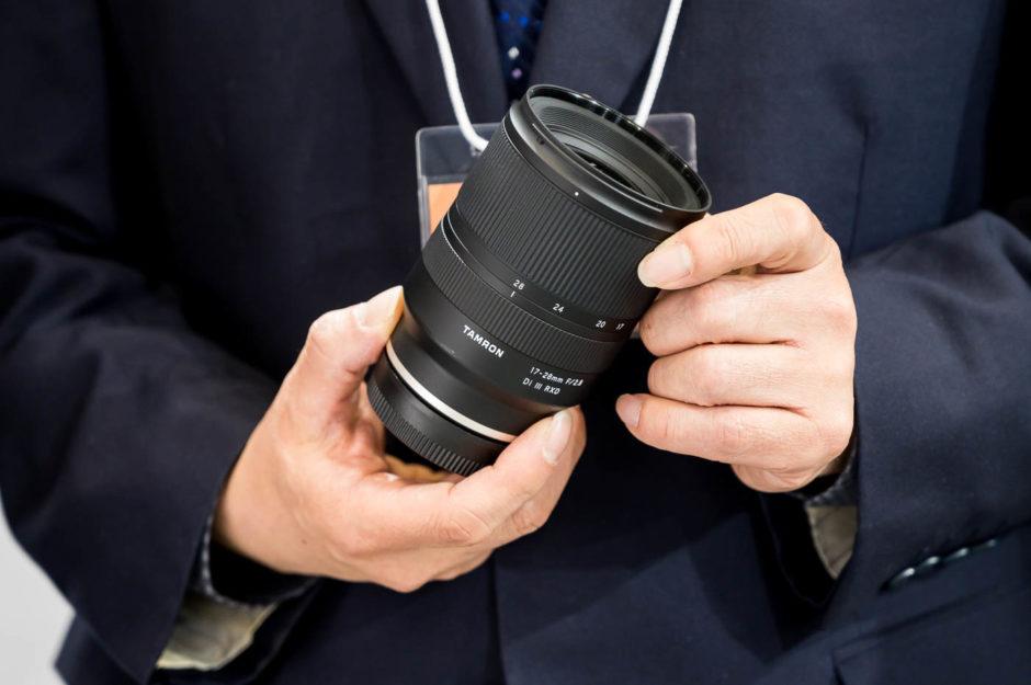 Макет объектива Tamron 17-28 mm f/2.8 Di III RXD