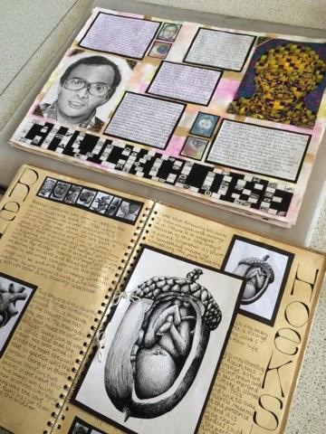 Gcse Art Sketchbook Layout