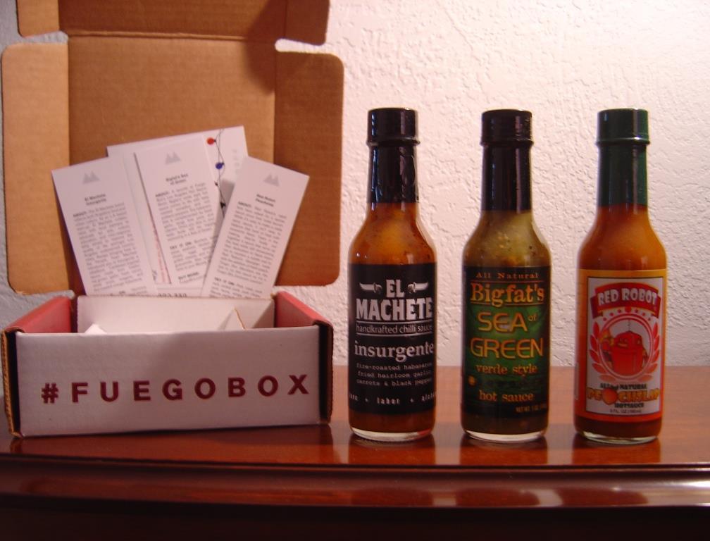 Fuego Hot Sauce Subscription box