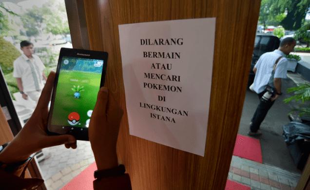 Game Pokemon Go Di Larang Di Mainkan, Ini Alasanya.