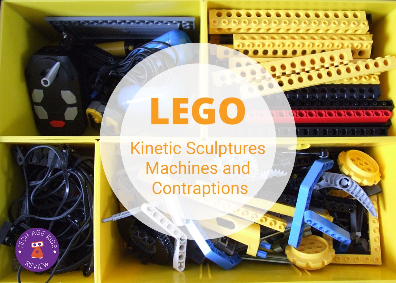 how to build a lego kinetic sculpture