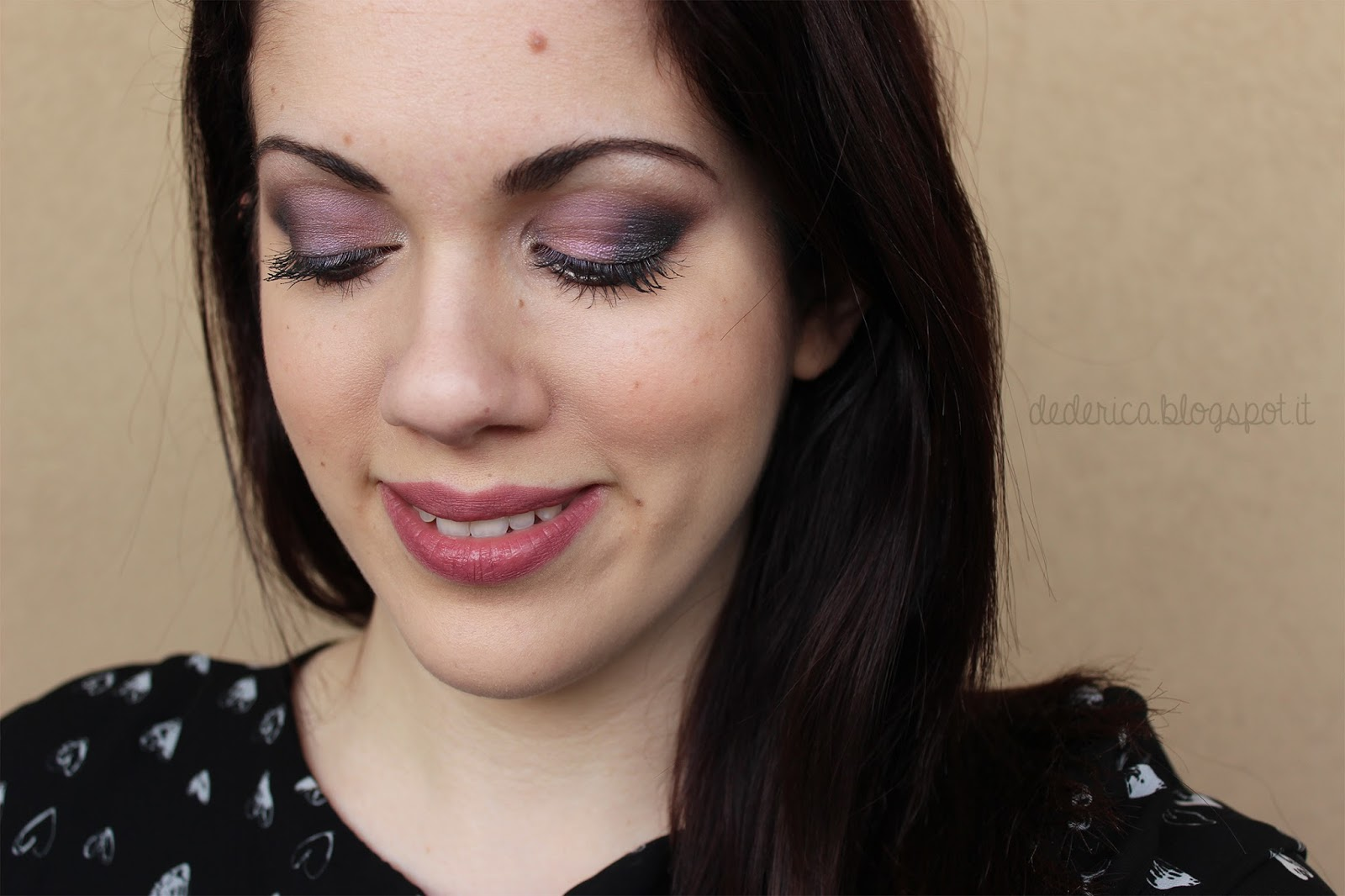 Duochrome Lavender Make-up Tutorial 2