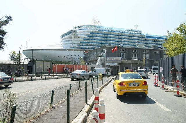 taxis estambul, taxis puerto cruceros estambul