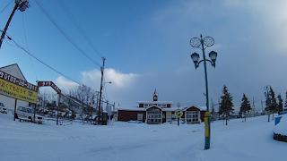 「北欧の風道の駅とうべつ」近くのJR石狩太美駅