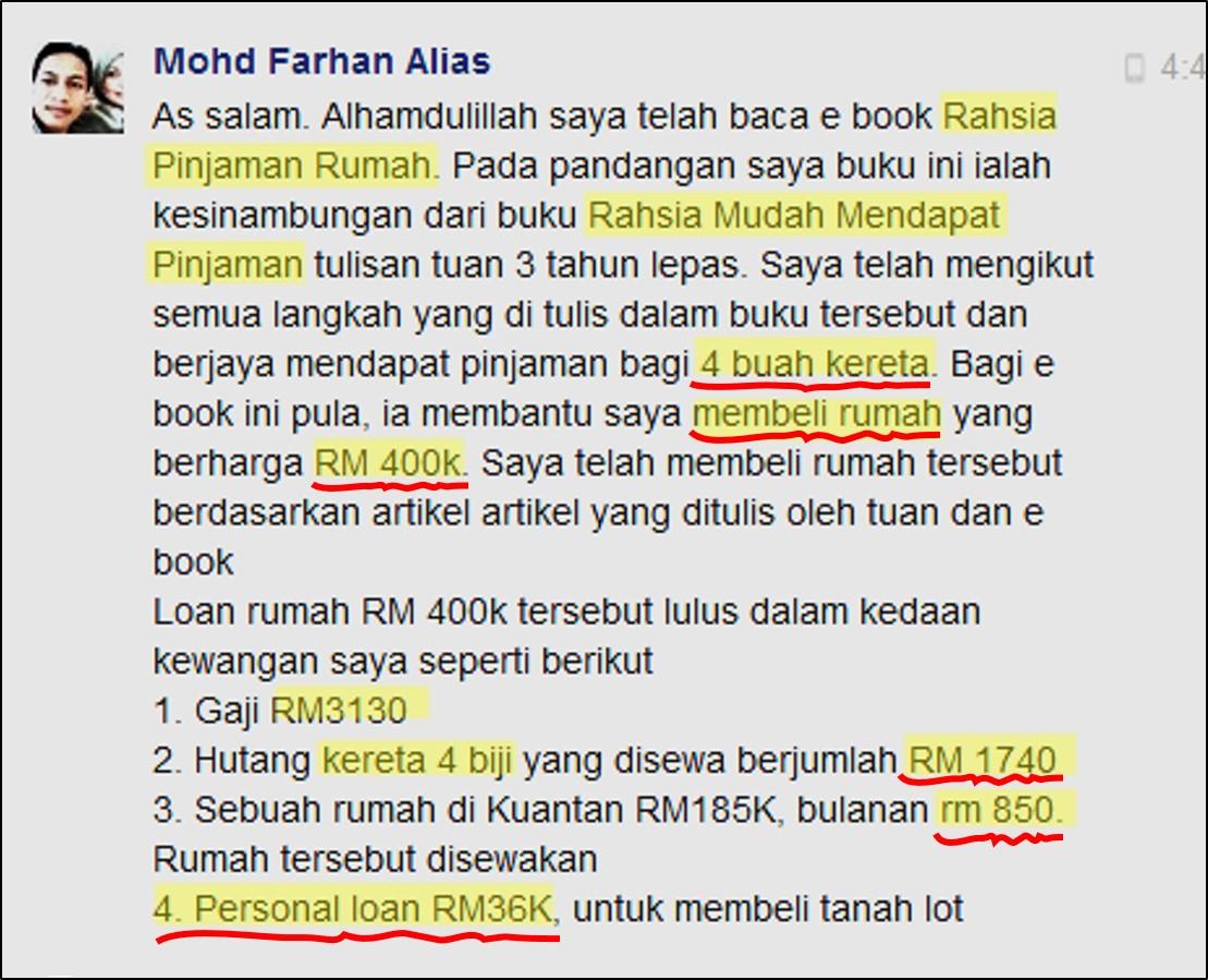 Dengan RM50, Mereka Berjaya Beli Rumah RM200K