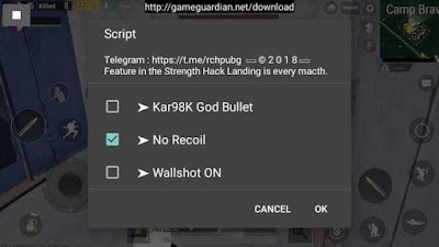 Cara Cheat PUBG Mobile Terbaru Work