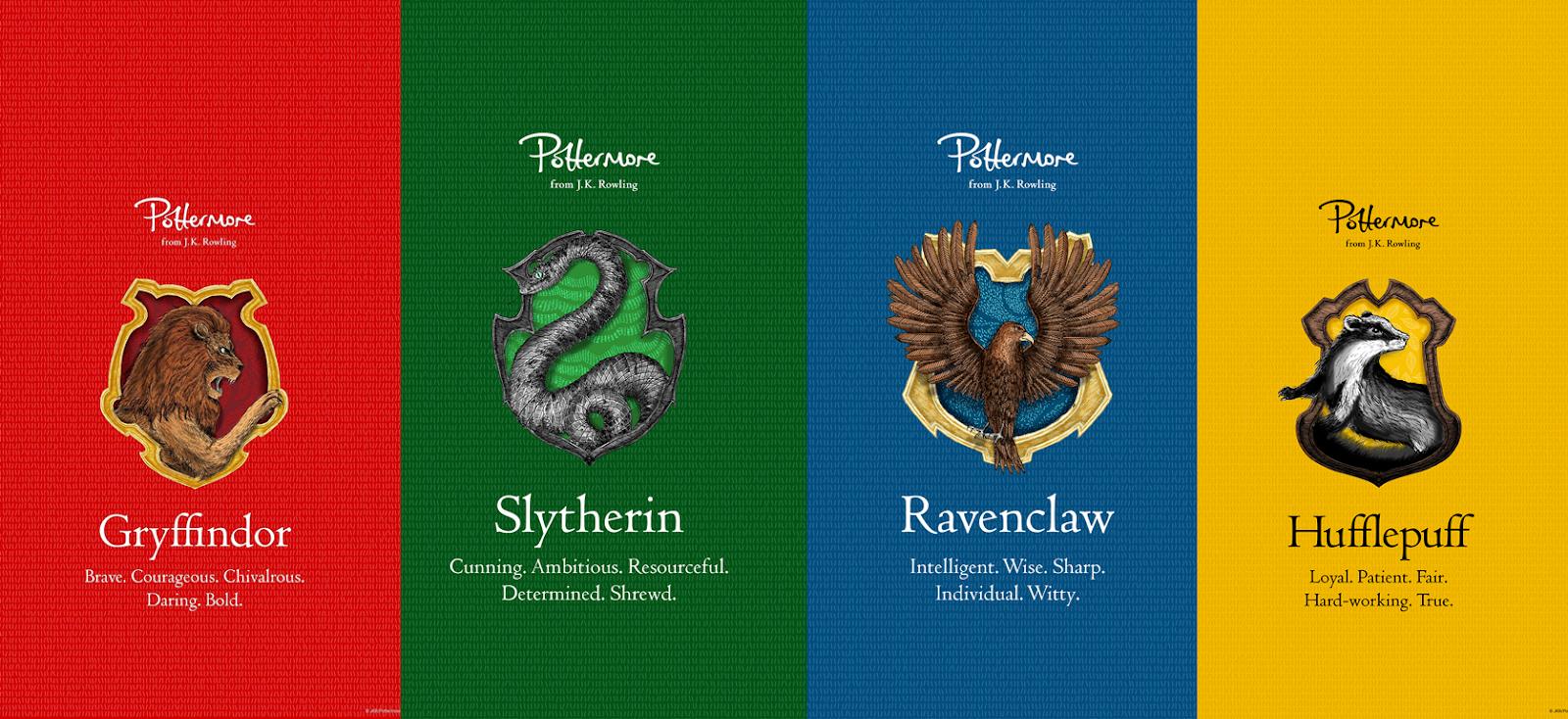 Blablablaubooks Casas De Hogwarts Parte 1