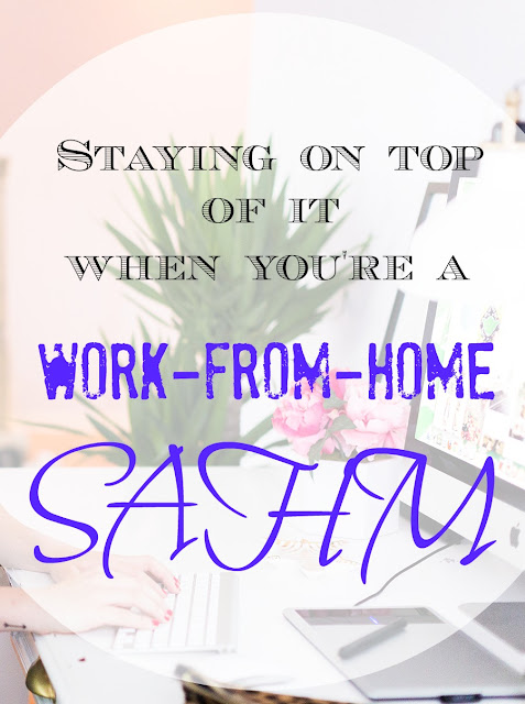 Detailed strategies to getting all the work done when you're a work from home mom