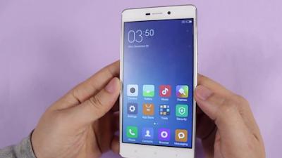 Cara Screenshot Layar Xiaomi Redmi 3