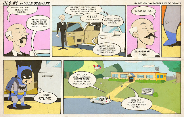 Comic strip addiction: JL8