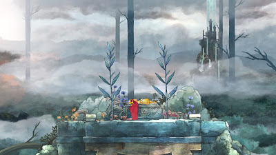 Child of Light Aurora endormie Lemuria