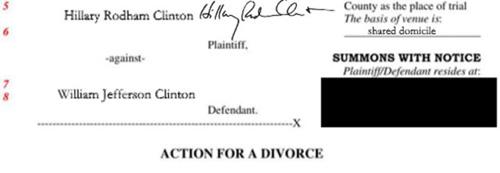 ΓΙΑ ΤΗ ΔΟΞΑ ΜΑΖΙ ΑΛΛΑ ΣΤΗ ΖΩΗ ΧΩΡΙΑ! Διαζύγιο ζήτησε η Χίλαρι απο τον Μπιλ! (ΦΩΤΟ)