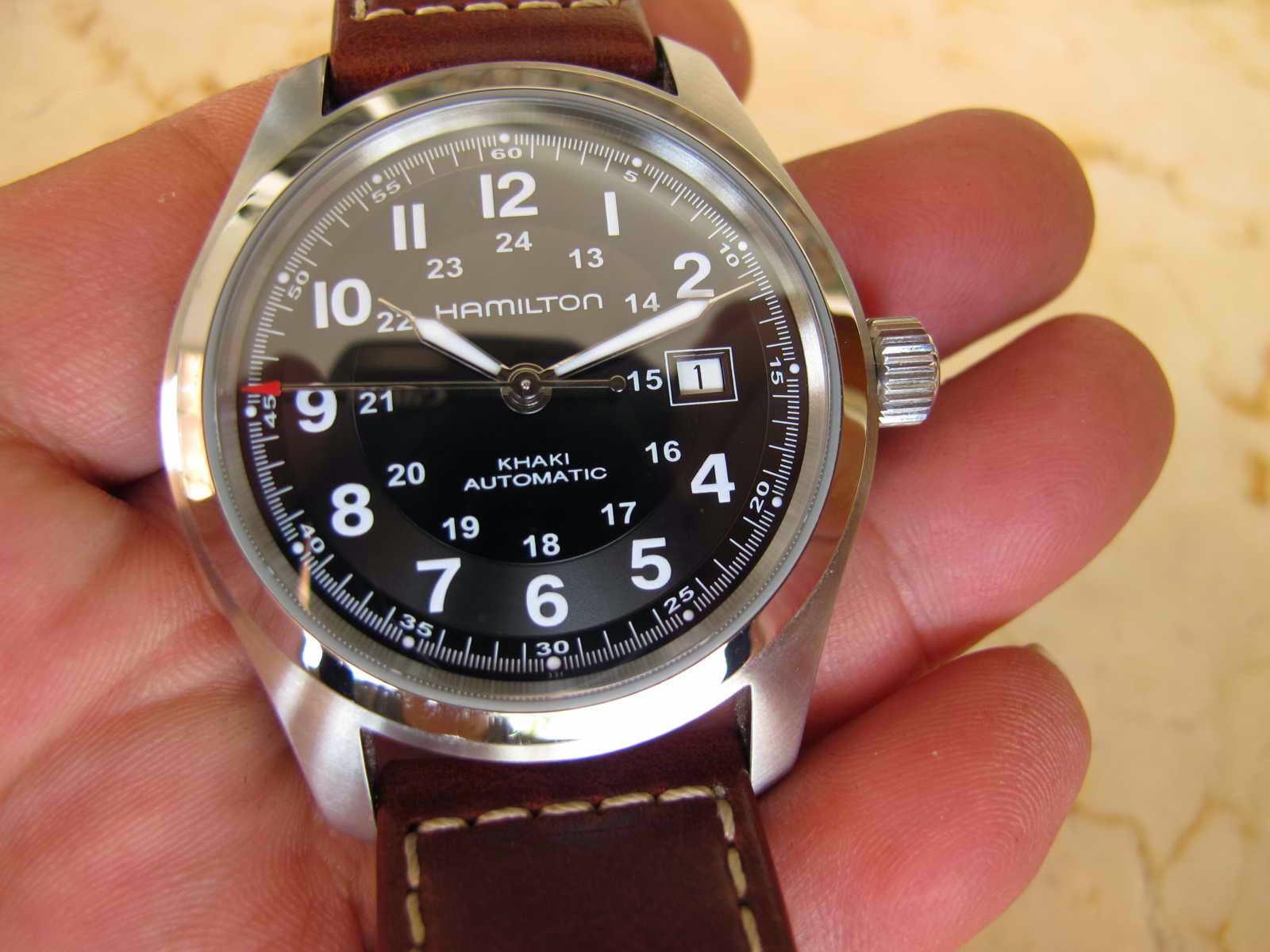 83ddb0aa7f8 Cocok untuk Anda yang sedan mencari jam tangan Military Watch... Swiss made  Automatic high beat... detik jalan super sweeping.... HAMILTON MILITARY .