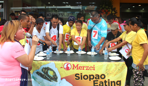 Merzci - Merzci Pasalubong - Bacolod pasalubong - Bacolod blogger - Bacolod restaurant - Bacolod bakeshop - Merzci Lopez-Jaena - siopao-eating contest