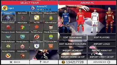 FTS Mod Fifa 17 Update terbaru