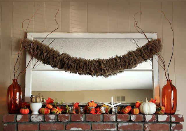 Fall is My New Favorite Season (My Fall Mantel)