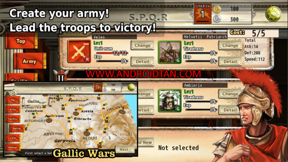 Free Download Roman War(3D RTS) Mod Apk v2.5.0 (Unlimited Money) Full Terbaru 2017 Gratis
