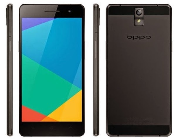 Smartphone Oppo R5 Warna Hitam