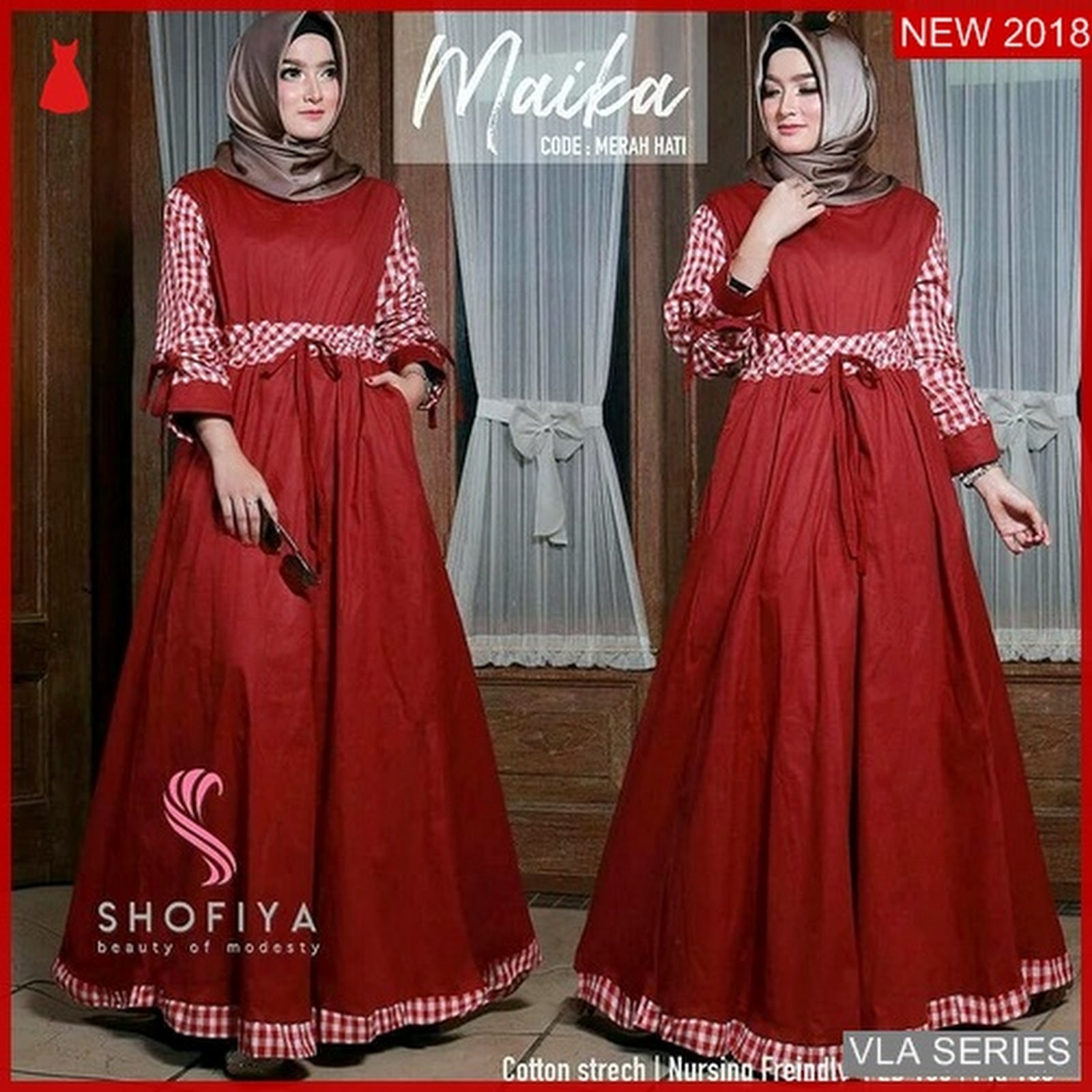 VLA052M187 Model Dress Maika Mc Murah BMGShop a77ccaa8ec