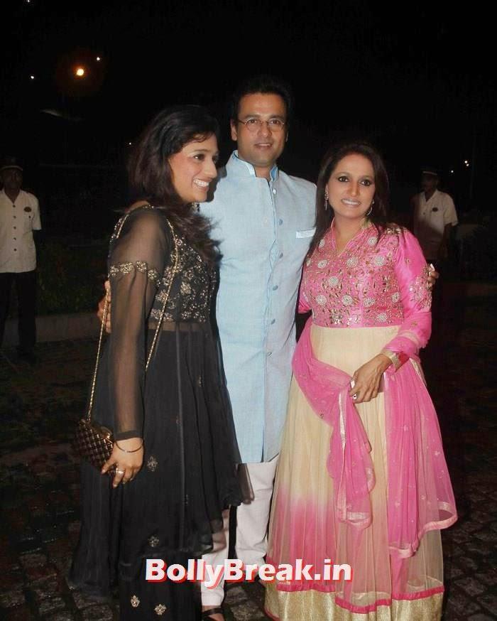Rohit Roy, Nikitin Dheer, Kratika Sengar Wedding Pics