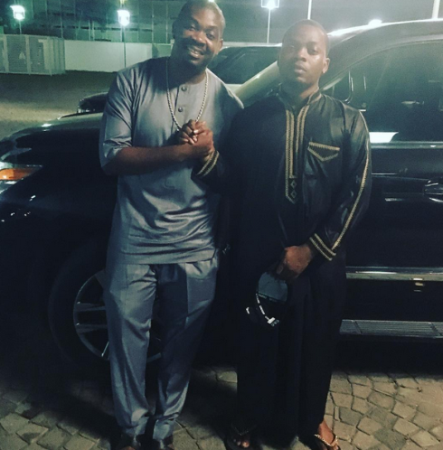 Olamide and Don Jazzy reconcile, release joint statement & pics together