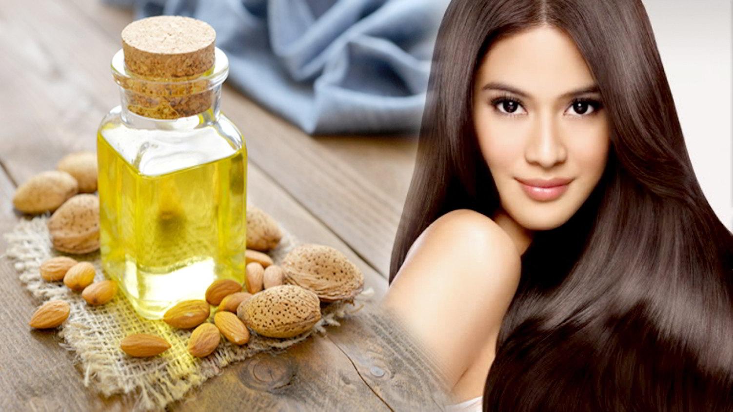 Manfaat Minyak Murni dari Almond Manis Untuk Rambut
