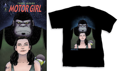 Motor Girl T-Shirt by Terry Moore x Graphitti Designs