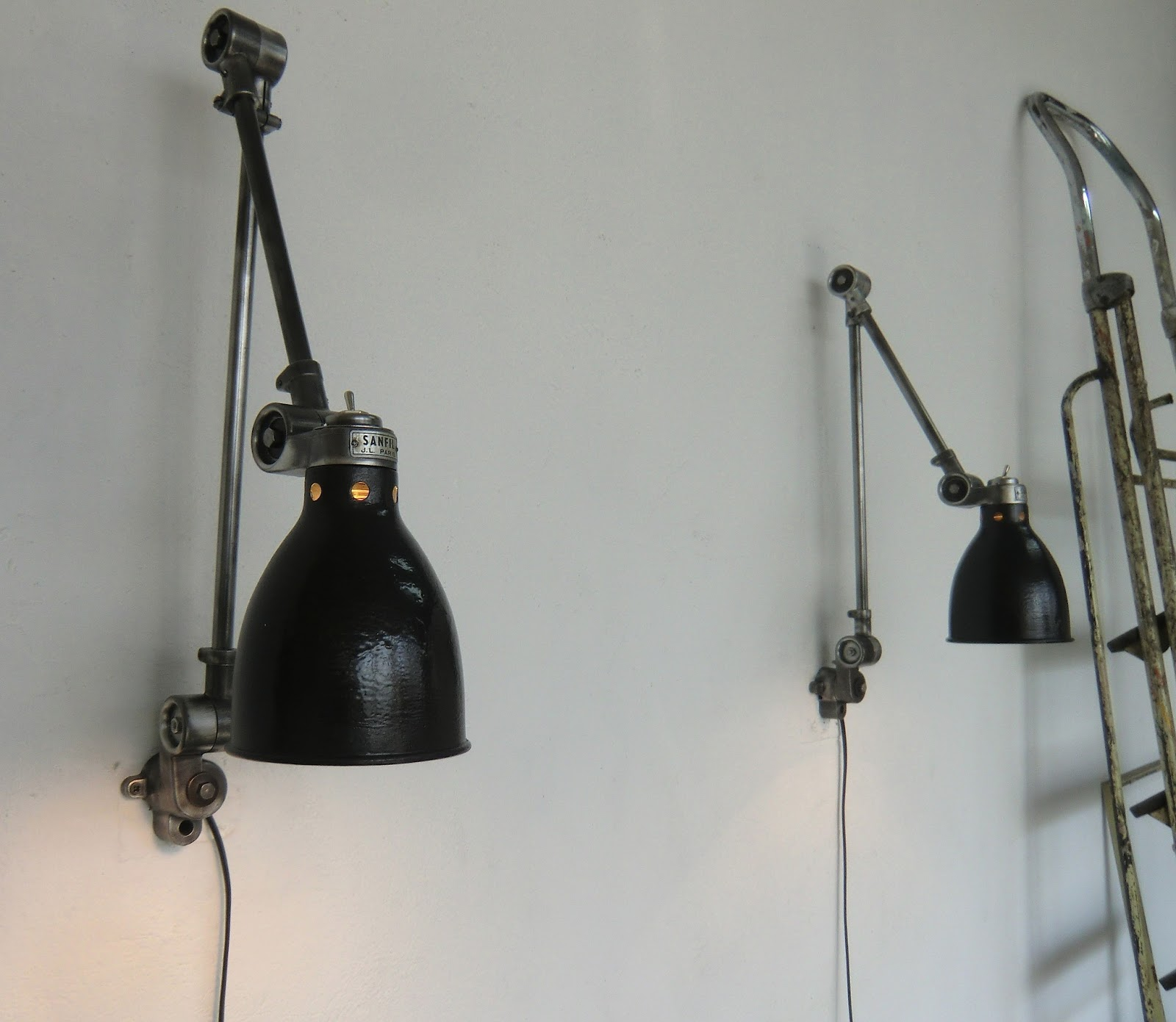 Wo and w collection paire de lampe murale industrielle - Lampe murale industrielle ...