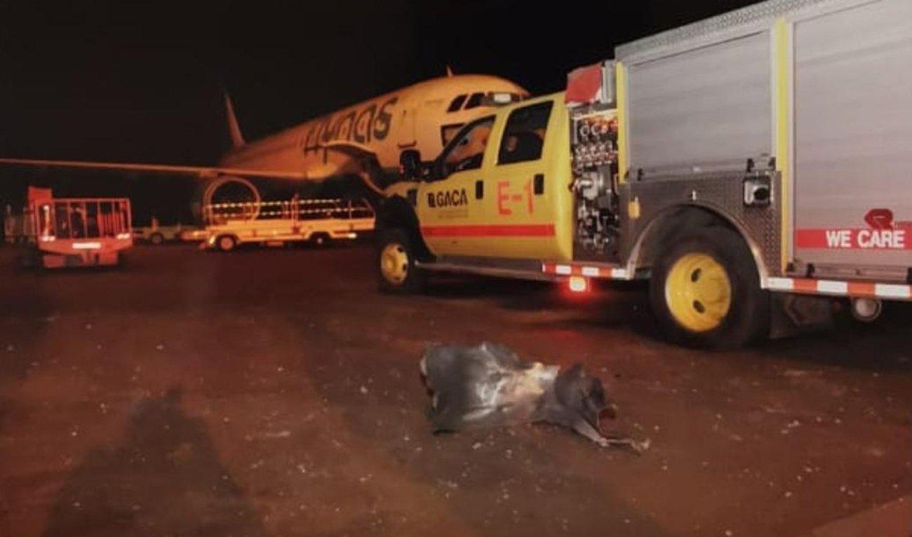 Husīti ar spārnoto raķeti apšauda lidostu