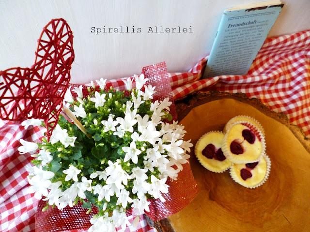 Spirellis Allerlei - Cheesecake Muffins mit Frucht