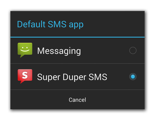 Android Developers Blog: Getting Your SMS Apps Ready for KitKat