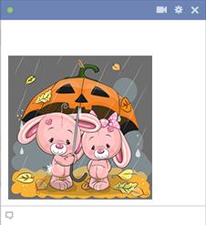 Jack-o'-lantern Umbrella