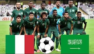 انتهت المباراه .. مباراه ايطاليا ضد السعوديه بث مباشر اليوم 28-5-2018