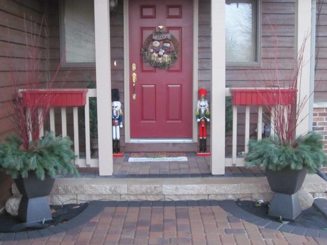 Christmas Planters Diy.Diy Christmas Planters Cooking On The Front Burner