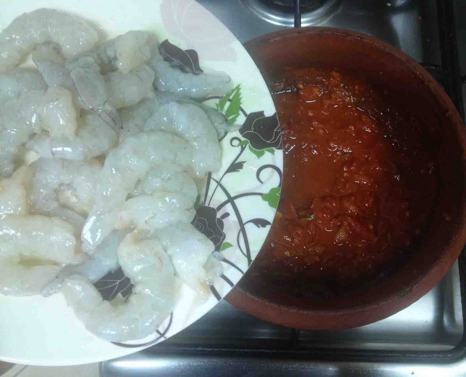how to cook green prawns well
