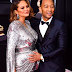 Pregnant Chrissy Teigen and John Legend reveal the gender of the baby they are expecting