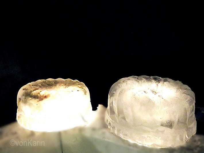 Eislicht aus Gugelhupf Form