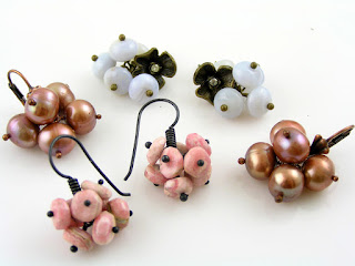 Pom Pom Earrings for Sale