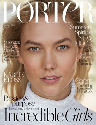 Karlie Kloss For Porter Magz