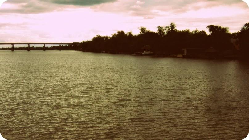 Quarta Ponte do Lago Guaíba e Ilha das Flores