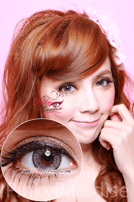 Geo Nudy Blue Circle Lenses (Colored Contacts)