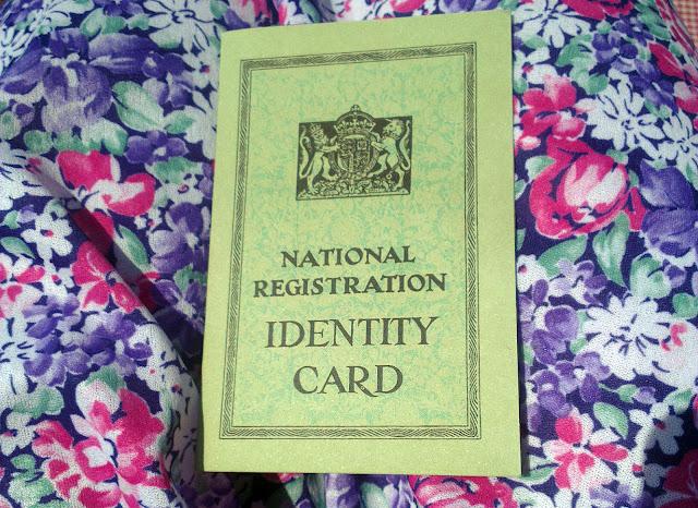 Havenstreet Railway 1940's weekend 2013 Identity card