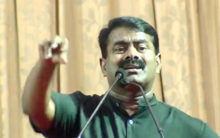 I Will Send TN Fishermen With Weapons to Sri Lanka – Seeman's Controversial Speech