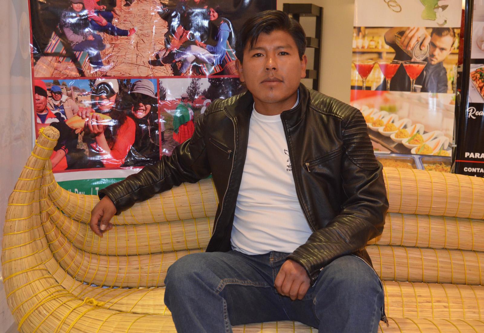 Juan Carlos Machicado, gerente de Wiñay Tours / ALBERTO MEDRANO
