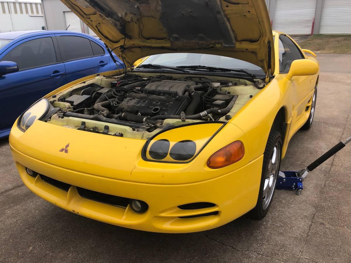 Daily Turismo: Lemon Meringue: 1994 Mitsubishi 3000GT VR4