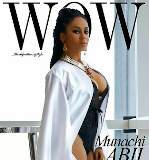 Wow! Who knew Munachi Abii like was this busty? Check her out on the cover of Wow magazine