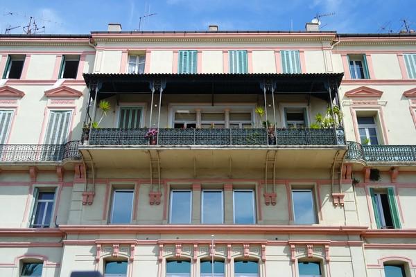 hyères var belle époque façade avenue clotis