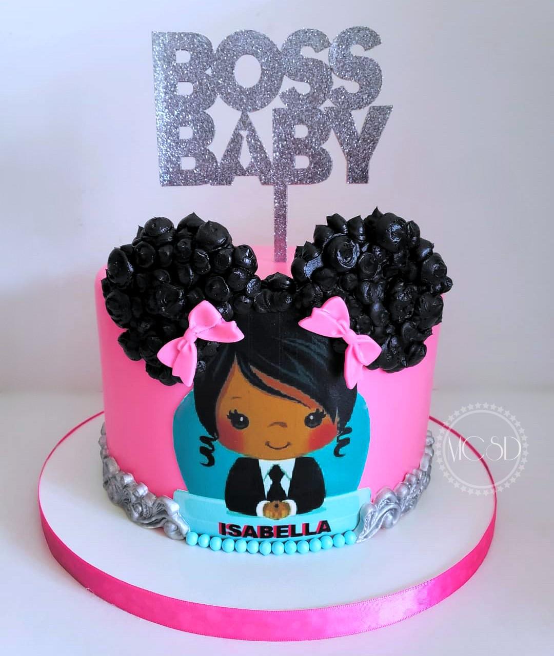 Cakesby Zana Boss Baby Girl Cake