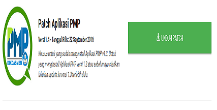 Aplikasi PMP Patch 1.4